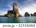 limestone formations in the Adaman sea, Thailand 32556068
