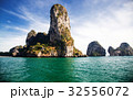 limestone formations in the Adaman sea, Thailand 32556072