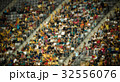 blurred crowd of people in a stadium 32556076