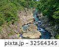 厳美渓 渓谷 磐井川の写真 32564345