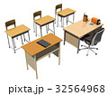 教室、机(少人数) 32564968