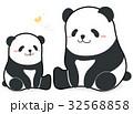 パンダ 親子 ベクターのイラスト 32568858