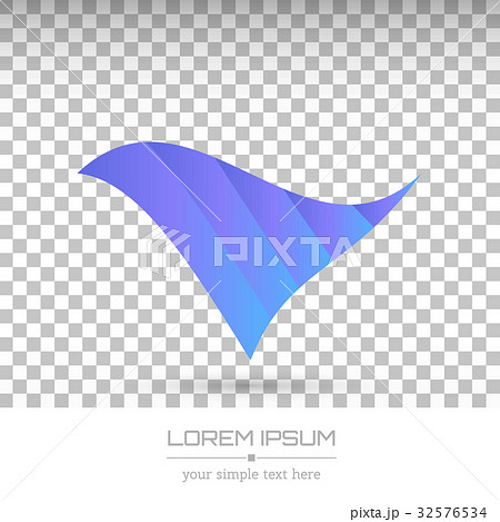 Vector logo with business cardのイラスト素材 [32576534] - PIXTA