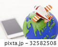 飛行機 旅客機 地球 観光 旅 旅行 32582508