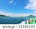 大分県 船からの姫島 32583103