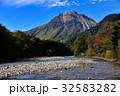 梓川 山岳 清流の写真 32583282