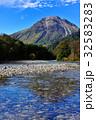 梓川 山岳 清流の写真 32583283