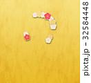 花 フレーム 輪のイラスト 32584448