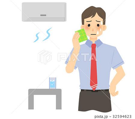 暑い(男性) 32594623
