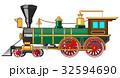 エスエル 蒸気機関車 ベクトルのイラスト 32594690