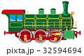 エスエル 蒸気機関車 ベクトルのイラスト 32594694