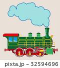 エスエル 蒸気機関車 ベクトルのイラスト 32594696