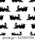 エスエル 蒸気機関車 ベクトルのイラスト 32594704