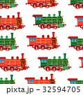 エスエル 蒸気機関車 ベクトルのイラスト 32594705