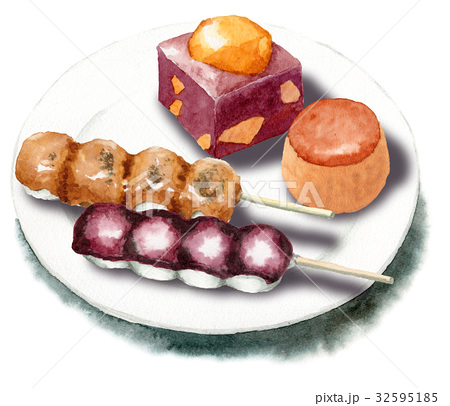 秋の和菓子セット 32595185