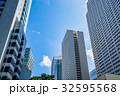 ビル群 高層ビル群 ビジネス街の写真 32595568