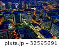 横浜 夜景 都市の写真 32595691