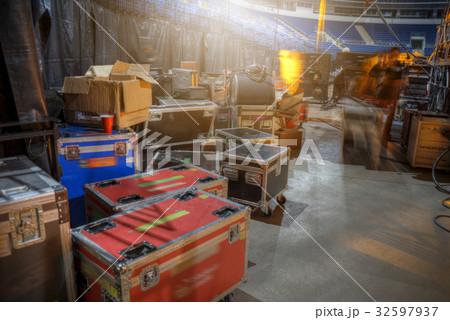 Preparation for a concertの写真素材 [32597937] - PIXTA