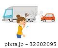 自動車事故 女性 32602095