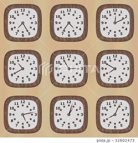 時計のテクスチャ-のイラスト素材 [32602473] - PIXTA