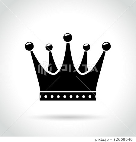 crown icon on white background 32609646