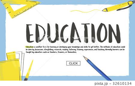School Knowledge Learning Academics Studyのイラスト素材 [32610134] - PIXTA