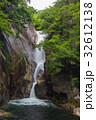 滝 流れ 岩の写真 32612138