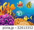 サカナ 魚 魚類のイラスト 32613352