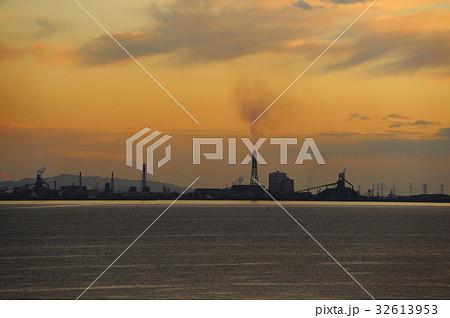 京葉工業地域 海ほたるからの眺め 千葉県風景  32613953