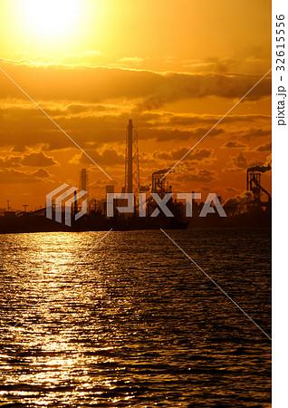京葉工業地域 君津 工業地帯 千葉県風景 32615556