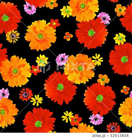 シームレスな花柄 32615838