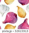 玉葱 柄 背景のイラスト 32615913