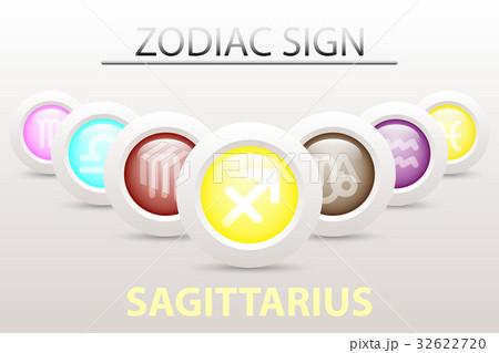 Horoscope astrology zodiac sign symbol Sagittarius 32622720