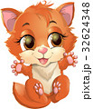 Kitty princess with decorations 32624348