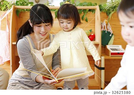 託児所、保育士、保育園、幼稚園、保育所、認可保育園 撮影協力・RYOZAN PARK大塚 32625380