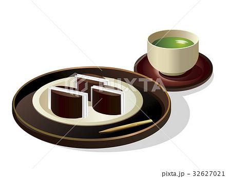 鯨ようかん 煎茶セット 皿 32627021