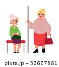 女性 ベクトル 古いのイラスト 32627881