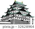 名古屋城 【カラー】 32628964