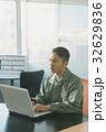 男性 作業服 オフィスの写真 32629836