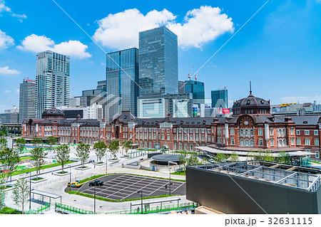 東京駅・都市風景 32631115