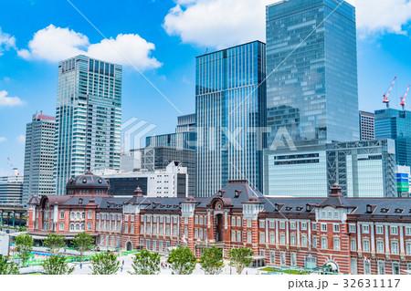 東京駅・都市風景 32631117