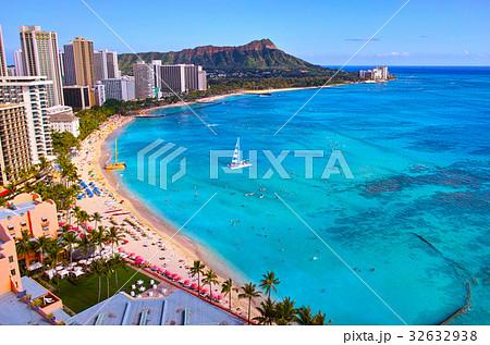 ハワイ ワイキキビーチ 32632938