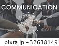 ビジネスマン ビジネスウーマン コミュニケーションの写真 32638149
