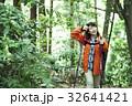女性 山登り 山歩きの写真 32641421