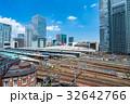 東京 都市風景 ビル街の写真 32642766
