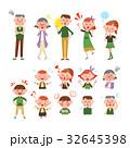家族 三世代家族 ファミリーのイラスト 32645398