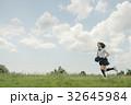 夏期講習に通う女子高生 32645984