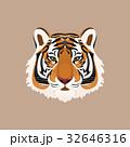 ベクター タイガー トラのイラスト 32646316