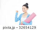 女性 ヨガ フィットネスの写真 32654129