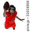 アメリカンフットボール フットボール 選手たちの写真 32658806